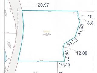 Lot for sale in Lac-des-Plages, Outaouais, Chemin de Vendée, 20491770 - Centris.ca