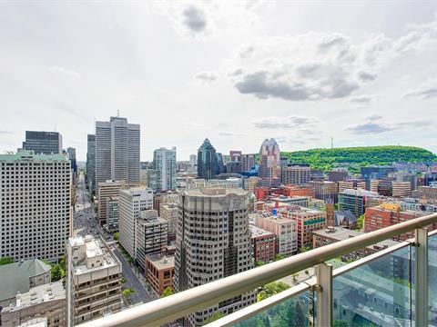 Condo / Appartement à louer à Ville-Marie (Montréal), Montréal (Île), 360, boulevard  René-Lévesque Ouest, app. 3905, 15856421 - Centris.ca