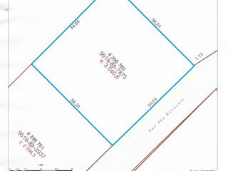 Lot for sale in Saint-Benjamin, Chaudière-Appalaches, Rue des Bosquets, 28268750 - Centris.ca