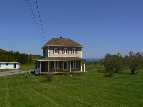 Maison à vendre à Port-Daniel/Gascons, Gaspésie/Îles-de-la-Madeleine, 23, Route  Chouinard, 14519979 - Centris.ca