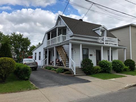 Duplex for sale in Joliette, Lanaudière, 197 - 199, Rue  Laurier, 14169951 - Centris