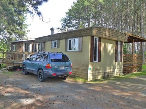 Mobile home for sale in Saint-Valère, Centre-du-Québec, 46, Chemin de la Plage-Hébert, 14916922 - Centris