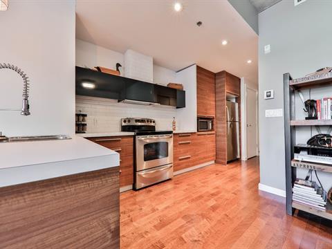 Condo à vendre à Ville-Marie (Montréal), Montréal (Île), 90, Rue  Prince, app. 502, 22201155 - Centris