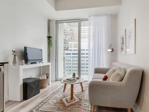 Condo / Apartment for rent in Ville-Marie (Montréal), Montréal (Island), 2061, Rue  Stanley, apt. 1208, 16013541 - Centris