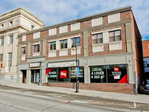 Commercial building for sale in Jacques-Cartier (Sherbrooke), Estrie, 93 - 95, Rue  King Ouest, 22894740 - Centris