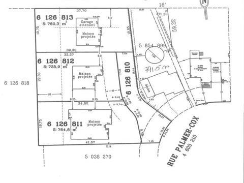Terrain à vendre à Granby, Montérégie, 283, Rue  Palmer-Cox, 9861185 - Centris