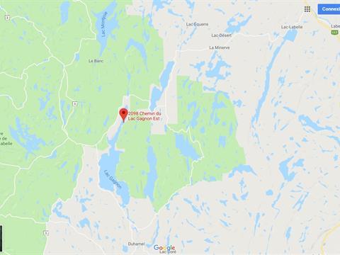 Terrain à vendre à Duhamel, Outaouais, 2098, Chemin du Lac-Gagnon Est, 14623964 - Centris.ca