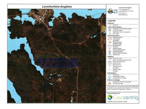 Land for sale in Laverlochère-Angliers, Abitibi-Témiscamingue, 5e-et-6e Rang, 25708711 - Centris.ca