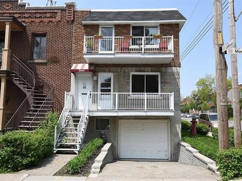 Duplex à vendre à Mercier/Hochelaga-Maisonneuve (Montréal), Montréal (Île), 8519, Rue de Marseille, 24882537 - Centris.ca