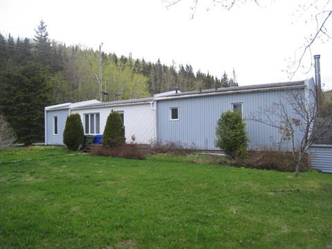 Mobile home for sale in Les Méchins, Bas-Saint-Laurent, 158, Route du Moulin, 27408019 - Centris.ca