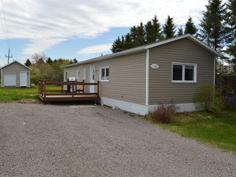 Mobile home for sale in Shipshaw (Saguenay), Saguenay/Lac-Saint-Jean, 1560, Rue  Delisle, 13456624 - Centris.ca