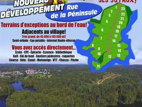Lot for sale in Bégin, Saguenay/Lac-Saint-Jean, 14, Chemin  Truchon, 19177704 - Centris.ca