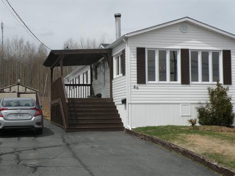 Maison mobile à vendre à La Sarre, Abitibi-Témiscamingue, 46, Rue  Lambert, 26606914 - Centris.ca