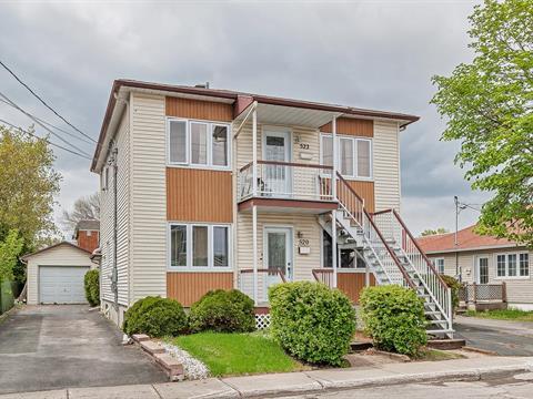 Duplex à vendre à Terrebonne (Terrebonne), Lanaudière, 520 - 522, Rue  Chartrand, 26100552 - Centris.ca