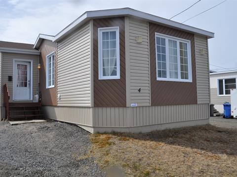 Mobile home for sale in Port-Cartier, Côte-Nord, 4, Rue  Dominique, 23501687 - Centris.ca