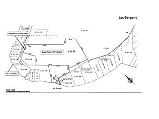 Lot for sale in Lac-Sergent, Capitale-Nationale, Chemin de la Montagne, 18590582 - Centris.ca