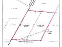 Terrain à vendre à Eastman, Estrie, Chemin des Diligences, 27061817 - Centris.ca
