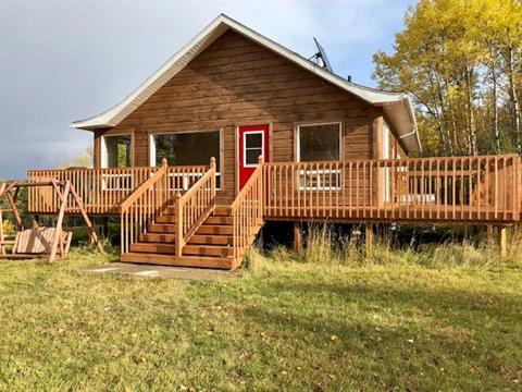 Cottage for sale in Saint-André-du-Lac-Saint-Jean, Saguenay/Lac-Saint-Jean, 13 - 15, Chemin de la Cavée, 20622350 - Centris.ca