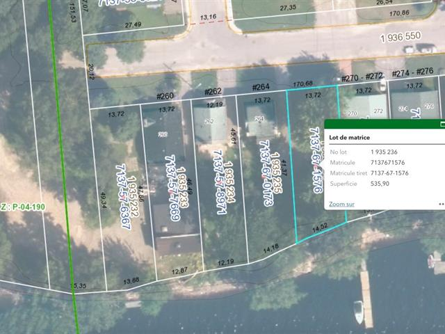 Lot for sale in Gatineau (Gatineau), Outaouais, 266, Rue  Riviera, 27874887 - Centris.ca