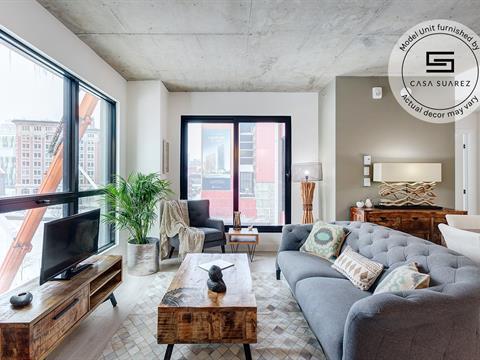Condo / Apartment for rent in Ville-Marie (Montréal), Montréal (Island), 1445, Rue  Clark, apt. 202, 26727219 - Centris.ca