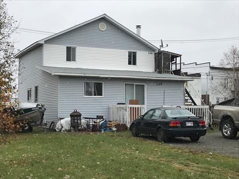 Duplex for sale in Malartic, Abitibi-Témiscamingue, 520 - 524, Avenue  Jean-Talon, 18249459 - Centris
