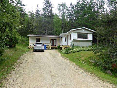 Mobile home for sale in Duhamel-Ouest, Abitibi-Témiscamingue, 452, Chemin  Notre-Dame Sud, 10621311 - Centris.ca