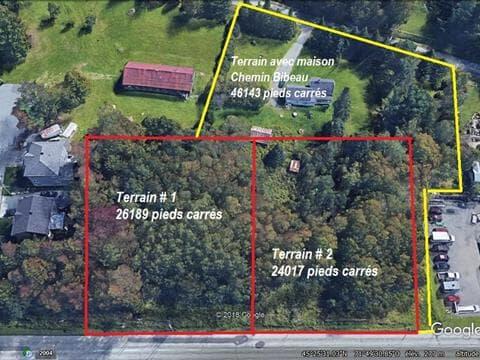 Terrain à vendre à Fleurimont (Sherbrooke), Estrie, Rue  King Est, 12136276 - Centris.ca
