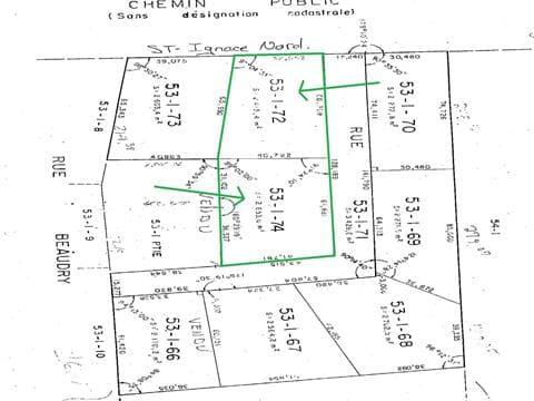Terrain à vendre à Saint-Michel-des-Saints, Lanaudière, Chemin de Saint-Ignace Nord, 12416632 - Centris.ca