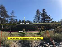 Land for sale in Métis-sur-Mer, Bas-Saint-Laurent, Route  132, 10435662 - Centris