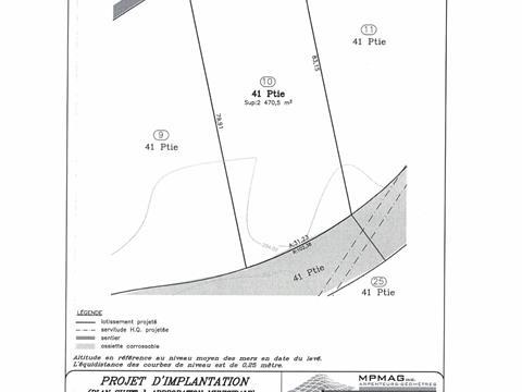 Terrain à vendre à Rivière-Rouge, Laurentides, Rue de la Pinède, 11748729 - Centris.ca