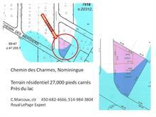 Terrain à vendre à Nominingue, Laurentides, Chemin des Charmes, 16461829 - Centris.ca