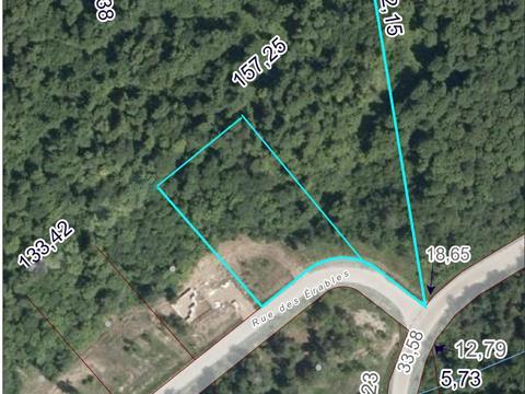 Terrain à vendre à Saint-Sixte, Outaouais, 12, Rue des Érables, 23538248 - Centris.ca