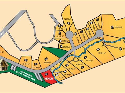 Lot for sale in Piedmont, Laurentides, Chemin des Faucons, 21227549 - Centris
