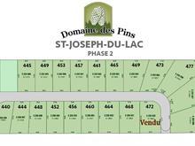 Terrain à vendre à Saint-Joseph-du-Lac, Laurentides, Rue du Parc, 19619795 - Centris.ca
