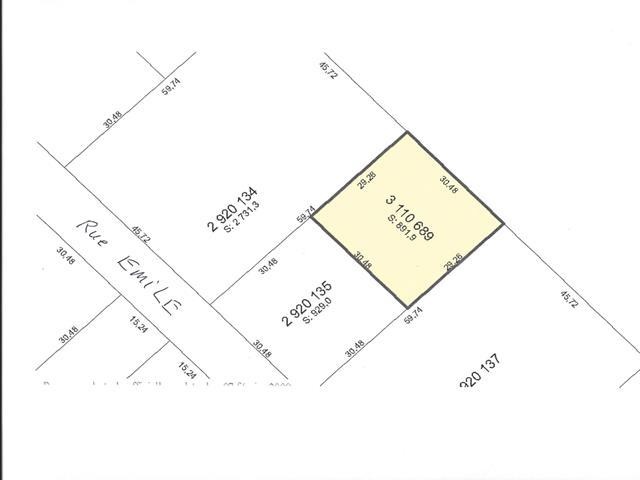 Lot for sale in Terrebonne (Terrebonne), Lanaudière, Rue  Émile, 11140841 - Centris.ca