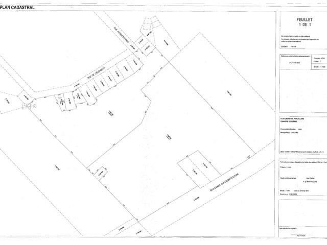 Lot for sale in Lévis (Les Chutes-de-la-Chaudière-Est), Chaudière-Appalaches, boulevard  Guillaume-Couture, 11718107 - Centris.ca