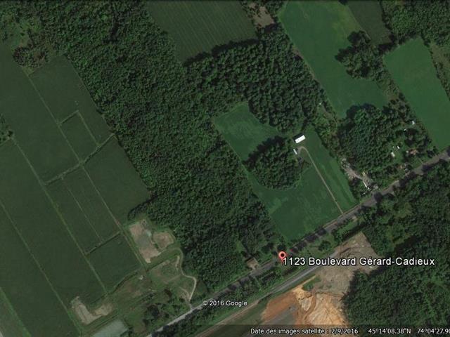 Land for sale in Salaberry-de-Valleyfield, Montérégie, 1143, boulevard  Gérard-Cadieux, 17555856 - Centris.ca
