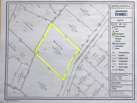 Terrain à vendre à Saint-Sauveur, Laurentides, 871, Rue  Principale, 12498938 - Centris.ca