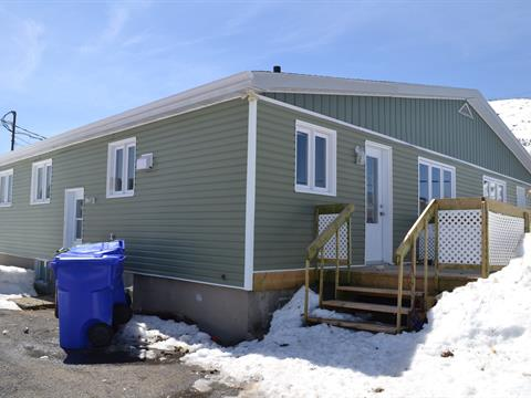 Duplex for sale in Murdochville, Gaspésie/Îles-de-la-Madeleine, 624 - 626, Rue des Pins, 25298358 - Centris