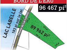 Lot for sale in Labelle, Laurentides, Chemin du Lac-Labelle, 22233107 - Centris.ca