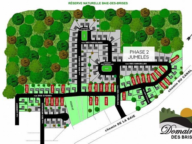 Terrain à vendre à Saint-Stanislas-de-Kostka, Montérégie, Rue des Sarcelles, 21108869 - Centris.ca