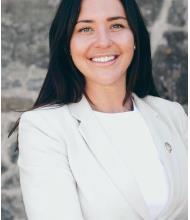 Priscilla Ménard, Courtier immobilier