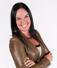Christine Brousseau, Courtier immobilier
