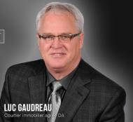 Luc Gaudreau, Courtier immobilier résidentiel et commercial agréé DA