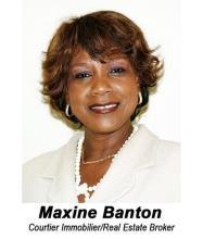 Maxine Banton, Real Estate Broker